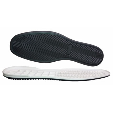 Women double color tpr soles