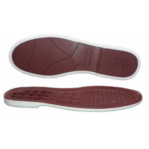 double color tpr soles